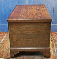 19th Century Country Elm Trunk (10 of 13)
