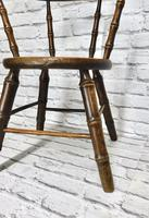 Child's Windsor Armchair with Faux Bamboo Turning (6 of 8)