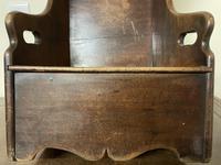 Georgian George III Mahogany Child's Rocking Chair (5 of 10)