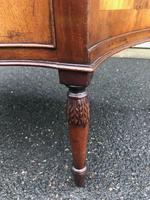 Antique Mahogany Serpentine Chest of Drawers (2 of 11)