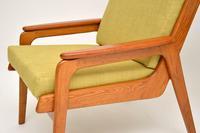 1960's Pair of Vintage Dutch Teak & Oak Armchairs (4 of 11)