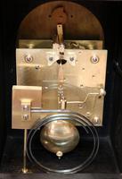 Oak Bracket Clock Supplied By Harrods (10 of 11)