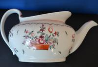 18th Century New Hall  Boat-shaped Teapot (4 of 5)