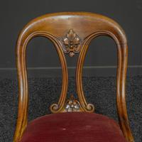 Set of Six Victorian Mahogany Chairs (9 of 13)