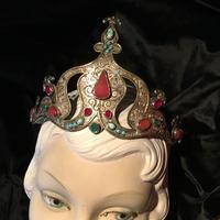 Stunning Headdress Set with Real Gemstones (6 of 8)