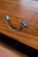 Tall Edwardian Mahogany & Inlaid Chest of Drawers (11 of 13)