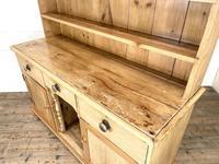 Antique Pine Farmhouse Kitchen Dresser (9 of 10)