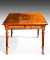 19th Century Mahogany Library / Writing Table (2 of 6)