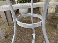 French Iron & Marble Bistro Table Mid 19th Century (6 of 12)