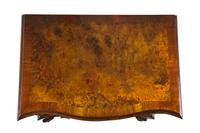 Burr Walnut Serpentine Front Small Chest of Drawers (2 of 6)