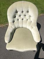 Antique English Upholstered Chair by Cornelius Smith (7 of 8)