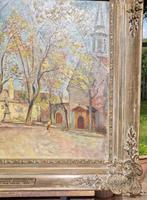 Carved Framed Oil on Canvas (4 of 9)
