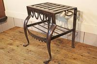 Antique Steel Fireplace Footman. Kettle and Plate Trivet. Welsh Folk Art (2 of 10)
