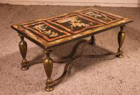 Coffee Table with Scagolia Marble Top - Florence 19th Century (12 of 13)