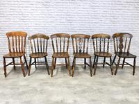 Interesting Assortment of 6 Windsor Kitchen Chairs (2 of 8)
