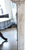 19th Century Large Quality Painted Chateau Overmantle / Wall Mirror (4 of 8)