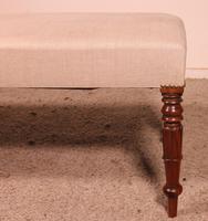 19th Century English Mahogany Bench (6 of 8)