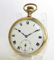 Antique Gold Filled Pocket Watch