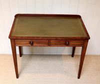 Late 19th Century Mahogany Writing Desk c 1890 (4 of 10)
