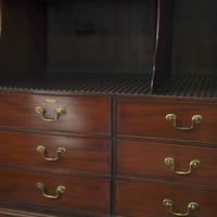 Antique George III Mahogany Estate Cabinet (7 of 7)