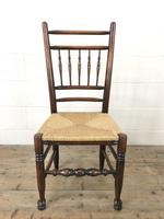 Set of Eight Spindle Back Chairs (7 of 10)