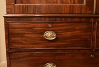 Lovely George III Mahogany Linen Press (8 of 8)