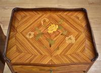 Pair of Louis XVI Style Marquetry Inlaid Bedsides Cabinets (6 of 8)