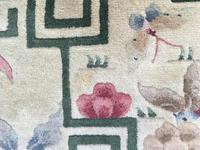 Antique Chinese Art Deco Carpet (9 of 12)