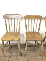 Set of Four Mix & Match Farmhouse Chairs (6 of 10)