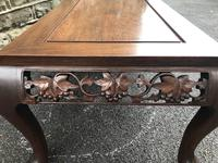 Large Antique Oriental Chinese Coffee Table (4 of 9)