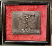 Interesting Set of Twelve Welsh Slate Hand-Carved Plaques (3 of 17)