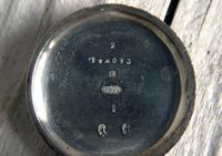 Antique Swiss Silver Women's Pocket Watch, Fancy Case, Fully Hallmarked c.1900 (10 of 10)