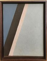 Original oil on board 'Abstract forms' By John Firth 1921-1998. Initialled and dated 1965