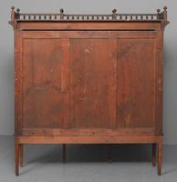 Oak & Painted Aesthetic Movement Bookcase (13 of 13)