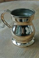 Gaskell & Chambers Antique Bell Metal Baluster Measures 1/2 Pint (3 of 5)