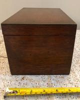 Small Oak Box - Possibly A Tea Caddy (5 of 8)