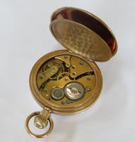 Antique Swiss Gold Filled Pocket Watch (3 of 5)