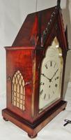 Regency Mahogany Gothic Bracket Clock (3 of 12)