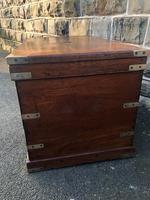 Antique Brass Bound Camphor Military Campaign Chest (6 of 11)