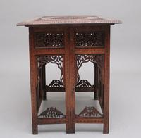 19th Century Carved Indian Occasional Table (5 of 9)