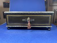 19th Century French  Ebonised Fruitwood Jewellery Box (13 of 18)