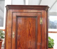 Country Oak Formal Hanging Corner Cupboard 1760 (9 of 10)