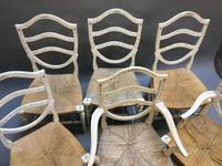 Set of 6 Sheraton Style Painted Chairs (3 of 7)