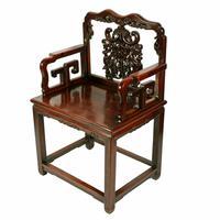 Qing Dynasty Hongmu Throne Chairs (4 of 8)