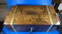 Victorian Brass-bound Walnut Writing Slope with Secret Drawers (26 of 39)