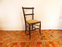 Ebonised Victorian Chair (7 of 10)