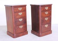 Pair of Mahogany Victorian Bedside Cabinets (3 of 12)