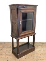 Antique Oak Cupboard on Stand (11 of 13)
