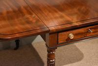 Superior Quality Regency Mahogany Pembroke Table (5 of 7)