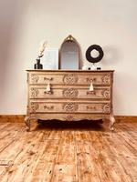 French Antique Style Chest / Rococo Chest of Drawers